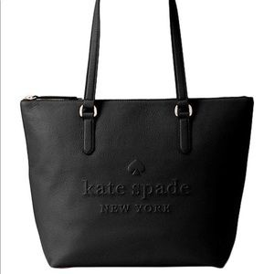 Kate Spade New York Black Larchmont Avenue Tote